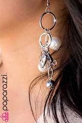 5th Avenue White Earrings K2 P5611-4
