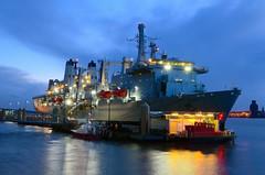 RFA FORT VICTORIA (Ugborough Exile) Tags: uk england liverpool nikon ships royalnavy 2015 fortvictoria rfa gace aor royalfleetauxiliary d7000 a387