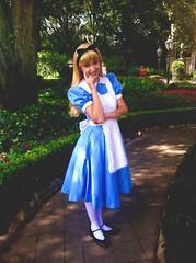 Alice in Wonderland (princessbelleindisguise) Tags: world uk face epcot alice disneyland character united parks kingdom disney wonderland walt pavillion uploaded:by=flickrmobile flickriosapp:filter=nofilter