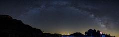 _MG_5749-Panormica (EugenioJB) Tags: sol contraluz noche agua farola pantano amanecer cielo estrellas cielos nocturnas contra anochecer nuves vialactea