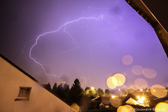 Finally a good thunderstorm at night (Alexandre D_) Tags: storm rain weather night canon eos drops extreme pluie rainy impact thunderstorm lightning thunder orage nord mto pasdecalais ultrawideangle clair foudre 70d cullmann 230t 1018mm billymontigny nanomax efs1018mmf4556isstm 1018isstm