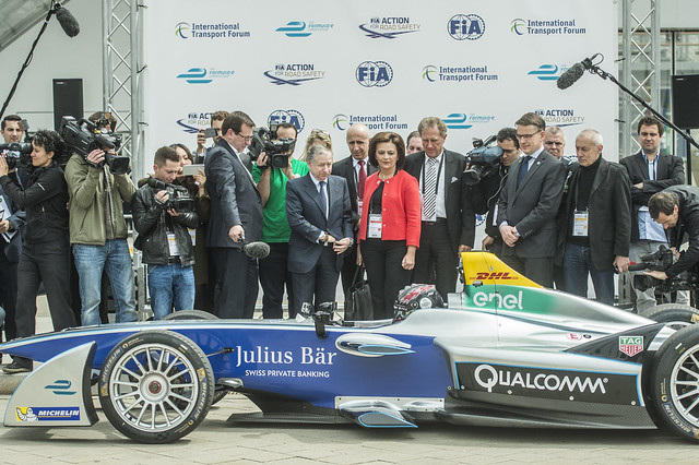 Jean Todt with the ministers