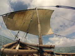 traditional dhow (rajarajaraja) Tags: indian ocean mafia island snorkelling tanzania traditional dhow