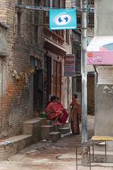 Meeting (Mark S Weaver) Tags: kathmandu patan nepa