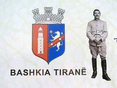 Bashkia Tiran (YOUGUIE) Tags: streetart sticker lp albania autocollant tirana shqiperia albanie leopipo leoetpipo