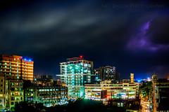 Cloudy night at dhaka (abudarda) Tags: city longexposure light urban cloud night dark cityscape fujifilm dhaka bangladesh 14mm xt10 abudardaphotography