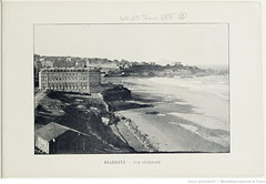 Fasc. 64, f. 12. Biarritz, vue gnrale (Library ABB 2013) Tags: france album bnf franais biarritz nationallibraryoffrance bibliothquenationaledefrance 1890