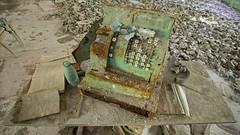 80 - Prypyat School Old Till - Chernobyl (Craig Hannah) Tags: school abandoned decay ukraine disaster 1986 derelict zone gasmasks 2016 exclusionzone restrictedzone prypyat nucleardisaster derelectbuilding hazardousarea zoneofalienation 30kilometrezone radioactivecontamination craighannah