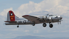 EAA Lockheed/Vega (Boeing) B-17G Flying Fortress 44-85740 N5017N 'Aluminum Overcast' (ChrisK48) Tags: airplane aircraft b17 boeing flyingfortress eaa aluminumovercast dvt phoenixaz b17g experimentalaircraftassociation kdvt n5017n phoenixdeervalleyairport lockheedvegab17g105ve cn8649 usaaf4485740