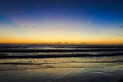 Silky Sunrise (kristydonnellyphoto) Tags: ocean life blue sea sky sun love beach water contrast sunrise waves live crisp harmony rays rise sunrays