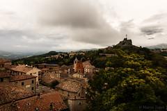 San Marino (Martin Zurek) Tags: travel sky clouds rural landscape town san heaven glow state historic oldtown marino canon5dsr 5dsr