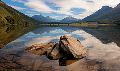 Diamond Lake Reflections Panorama (Panorama Paul) Tags: newzealand panorama lake mountains reflections rocks glenorchy nikkorlenses nikfilters nikond800 wwwpaulbruinscoza paulbruinsphotography lakereid