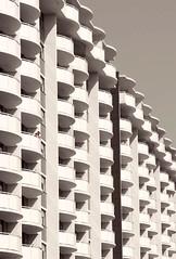 100 Raglan Avenue (Underground Joan Photography) Tags: urban toronto architecture balconies apartmentbuilding stclairwest