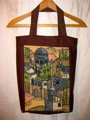 Jerusalem Bag (cupcakes photos) Tags: wool bag jerusalem needlepoint fabric tote