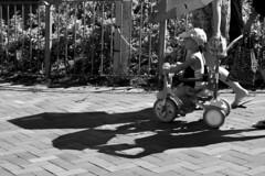 Bicycle Kid (Job Homeless) Tags: blackandwhite hongkong streetphotography monochorme streetsnap