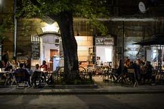 Kazimierz (Jacek Dylag) Tags: street old city people night pub poland krakow cracow kazimierz cracovia mostowa