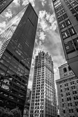 Web financial district 3 (mtschappat@verizon.net) Tags: nyc silver skyscrapers district sony nik financial efex rx100iv