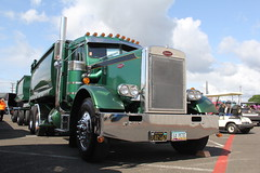 ATHS National 2016 (24) (RyanP77) Tags: aths truck show salem oregon peterbilt kw kenworth logger cabover pete freightliner marmon dump semi