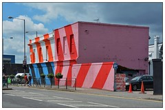 Colourful ... (junepurkiss) Tags: streetart london colourful oldbuilding walthamstow