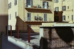 Roma, febbraio 2016 - camera con vista parte II (laura.effe) Tags: city windows panorama sun rome roma architecture view nostalgia vista sole inverno architettura terrazzo palazzi finestre zanzariera