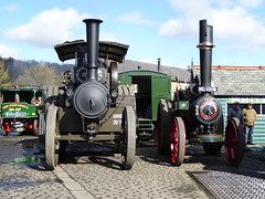 Preparing for a Sunny Day! (Terry Pinnegar Photography) Tags: museum traction engine steam beamish louise mclaren gigantic cobbles sentinel countydurham 1332 1488 38742 roadlocomotive claytonshuttleworth nl1216 aw3407 denbyflyer ds7128