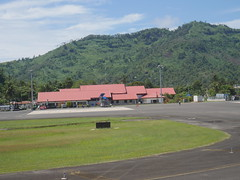 Airport in Kolonia, Pohnpei.