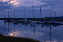 Sunset (careth@2012) Tags: sunset sky reflection clouds marina reflections skyscape boats outdoors boat nikon scenery view scenic mast masts cloudscape scenec 55300mm nikond3300 d3300
