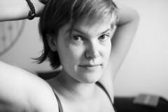 (Petar Stoykov) Tags: portrait blackandwhite girl monochrome 35mm eos prime candid bnw canon35mm14l 1dsmarkiii canon1dsmarkiii