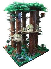 Ewokdorf 03 (KW_Vauban) Tags: starwars lego endor ewokvillage episodevi thereturnofthejedi