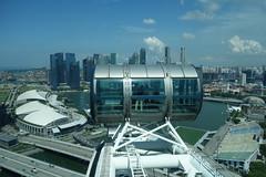 Singapur (O!i aus F) Tags: flyer singapore asia asien rad osm singapur riesenrad k5 k7 singaporeflyer