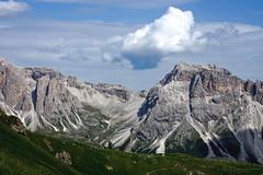 Sas dla Porta e Col dela Creusc (Franco Vannini) Tags: dolomiti dolomites odles sassrigais fermeda seceda valgardena valdifunes odle