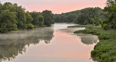 Grand River dawn (virgil martin) Tags: grandriver ontario canada olympusomdem5 oloneo microsoftice gimp