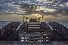 Swakopmund Pier (mistermo) Tags: swakopmund pier sunset sonnenuntergang namibia travel hdr canoneos50d mar picture