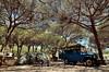 Campsite in Fuengirola [Spain] (babakotoeu) Tags: car jeep offroad 4x4 toyota land series 40 landcruiser cruiser troopy bj40 40series bj45