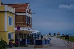 A summer restaurant waiting for customers (frankmh) Tags: summer house restaurant skne sweden outdoor torekov