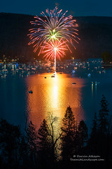 4th of July 2016 (Darvin Atkeson) Tags: california light lake snow mountains reflection water rain forest day glow fireworks bass nevada 4th july sierra pines shore independence 4thofjuly basslake oakhurst elnino 2016 darvin atkeson darv lynneal yosemitelandscapescom