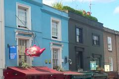 (mistigree) Tags: londres portobello portobellomarket nottinghill faade couleur multicolore enseigne