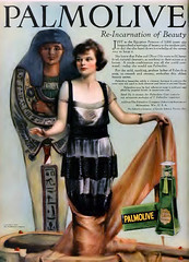 Palmolive Advertisement 1920's (kevin63) Tags: 1920s woman color magazine movie advertisement shampoo lightner palmolive mummycase