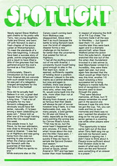 Norwich City vs Arsenal - 1981 - Page 16 (The Sky Strikers) Tags: norwich city arsenal football league division one carrow road official match day magazine 30p