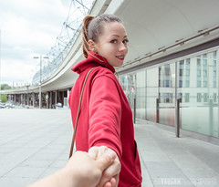 (alex.vaughn90) Tags: visit portrait people germany walking outdoor berlin sightseeing travel friends tourism july model hauptbahnhof europe tourist walk emily