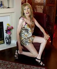 July 2016 (33) (Rachel Carmina) Tags: cd tv tg trap tgirl femboi trans crossdresser legs heels nightie