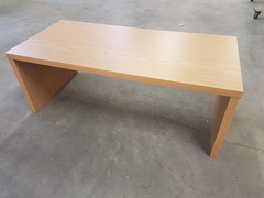 Xanita MDF workstation desk