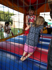 2016-06-11 18.43.22 (whiteknuckled) Tags: lily 4th fourth birthday party strawberry festival st pauls friends bounce bouncey house castle