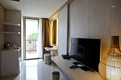 Console, desk and shelf (A. Wee) Tags: fourpoints spg kuta bali  indonesia  resort hotel  suite  bedroom