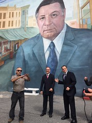 Rizzo Meets Rizzo (at the Mural)