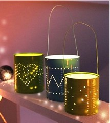 How Do Candle holder With Cans (LauraHaani) Tags: candleholder cans diy howto tutorial wedding