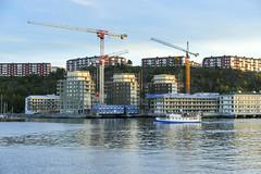 Finnboda (Anders Sellin) Tags: batic skrgrd sverige sweden vatten sea stockholm stersjn finnboda varv bygger lgenheter nybyggnation