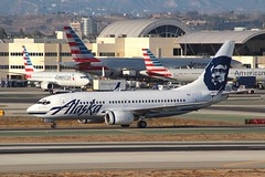 Alaska (So Cal Metro) Tags: alaska alaskaairlines boeing 737 737700 n615as airline airliner airplane aircraft aviation airport plane jet lax losangeles la
