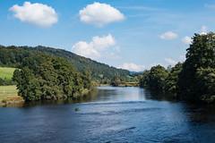Scene on the river Regen (schauplatz) Tags: bayerischerwald bayerwald deutschland lamerwinkel urlaub landscape landschaft fluss river scenery