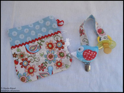 "Conjunto de maternidade ""Bluebirds Cottage"""